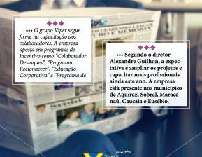 Viper na mídia: empresa é destaque no jornal O Estado