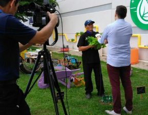 Viper na TV: colaborador responsável por cuidar de horta 100% orgânica concede entrevista