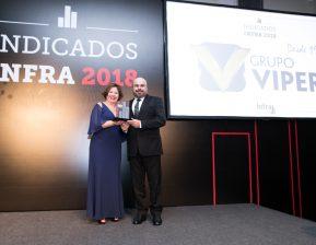Grupo Viper recebe o Prêmio Indicados Infra 2018