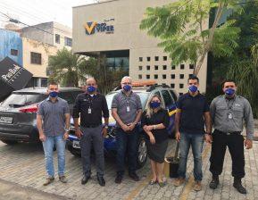 Gestores do Grupo Viper visitam sede de Sobral