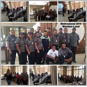 Colaboradores do Grupo Viper participam de Capacitação no Mandara Lanai. (Foto: Divulgação)